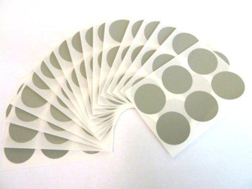 102 etiquetas, 25mm diámetro redondo, gris, código de color PEGATINAS, autoadhesivo ADHESIVO PUNTOS DE COLORES