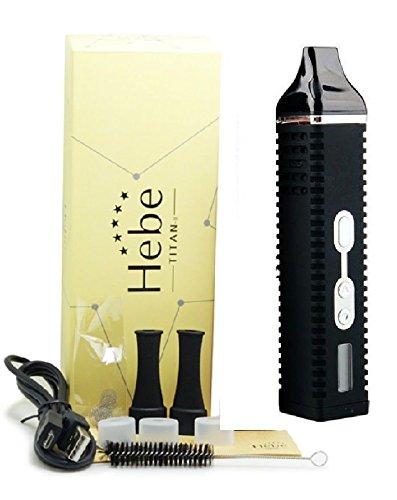 Hebe TITAN 2 II Verdampfer Kit für Kräuter Dry Herb Vaporizer NEU, Farbe:Schwarz