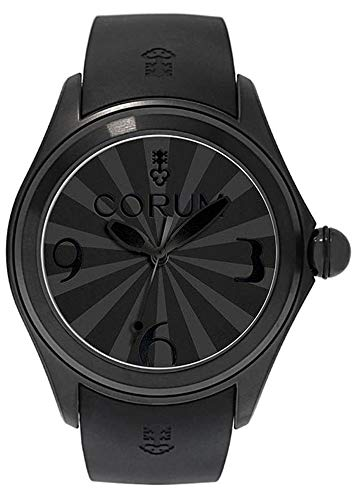 Corum Bubble Limited Edition PVD Steel Automatic Black Rubber Strap Mens Watch 082.310.98/0371 BB01