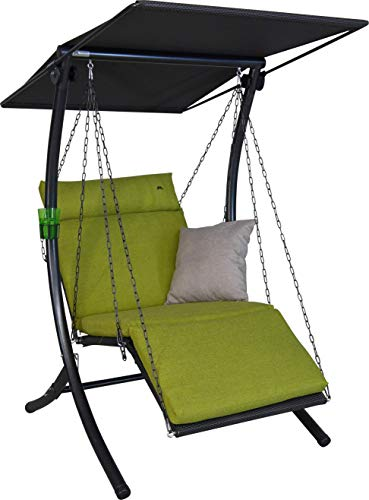 Angerer Swing Smart Hollywoodschaukel, grün, 1-Sitzer