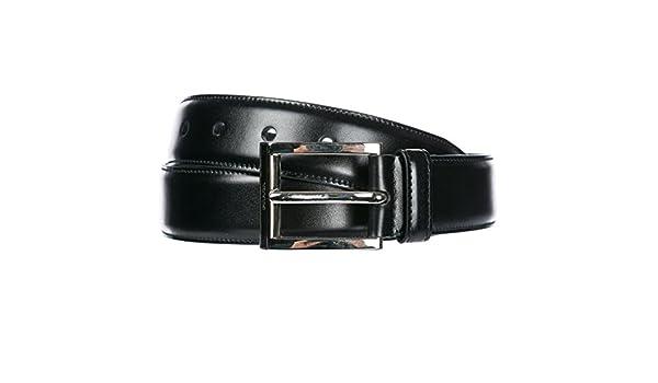 6017cc321cc5 Prada ceinture homme en cuir noir EU 90 2C2701 X72 F0002  Amazon.fr   Vêtements et accessoires