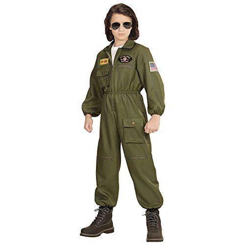 Widmann - Kinderkostüm Kampfjet - Karneval Berufe Kostüme