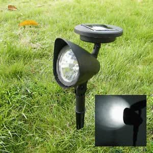 2er set led solar strahler solar spot light gartenspot solarlampe gartenbeleuchtung 3led. Black Bedroom Furniture Sets. Home Design Ideas