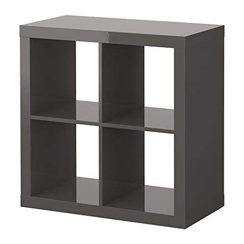 IKEA Expedit Regal in hochglanz grau
