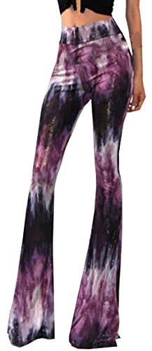 U-shot Schlaghosen für Damen, Stil: 70er Jahre, hohe Taille, Stretch, lang Gr. 40, Stil Nr. (Stil Jahre Frauen 70er Für)