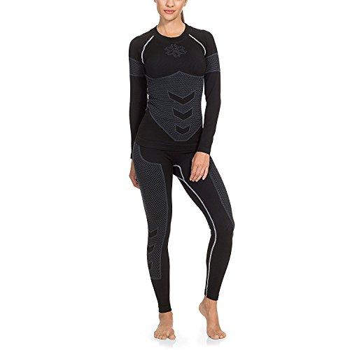 41ZXi5fHNSL. SS500  - Gregster Women's Winter Ski & Snowboard Base Layer/Baselayer Long Sleeve Thermal Underwear – Seamless