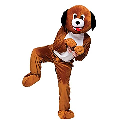 Mascot Puppy Dog Mascot Adult Mascot & Animal Costumes   Ladies Mens Children's Entertainer Outfits   Fancy Dress