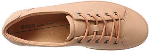 Ecco Damen Soft 2.0 Derbys Beige (Muted Clay)
