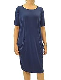 Vestido de manga corta para mujer