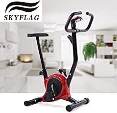 SkyFlag Exercise Bike with Cardio