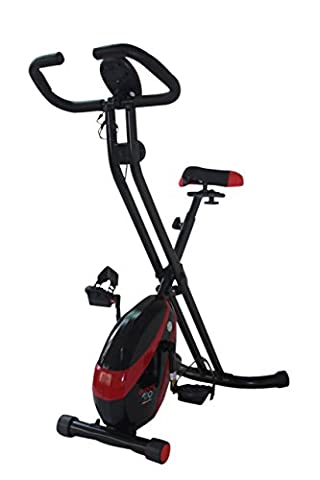 Olympic 2000 Compact Exercise Bike - Red