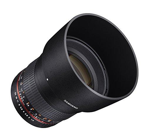 Samyang 85mm F1.4 Objektiv für Anschluss Nikon AE - 5