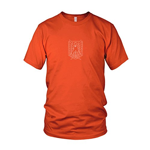 Scouting Legion Eren - Herren T-Shirt Orange