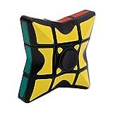 La mano ruotare il cubo di Rubik giocattolo, Mamum liscio e velocità 1x 3x 3Rubiks Cube puzzle spinner Focus Edc giocattolo per attenuare