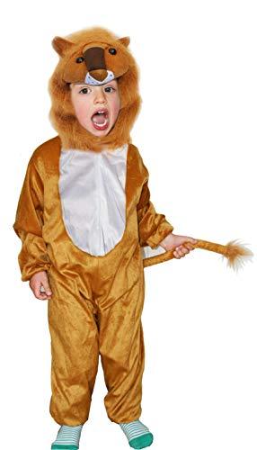we Tier Onesie- kostüm Tier für 3-5 Jahre (110 cm) Größe M ()