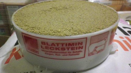 Blattimin Leckstein Leckschale Mineralstoff 2 Kg Schafe Ziegen Wild Blattin