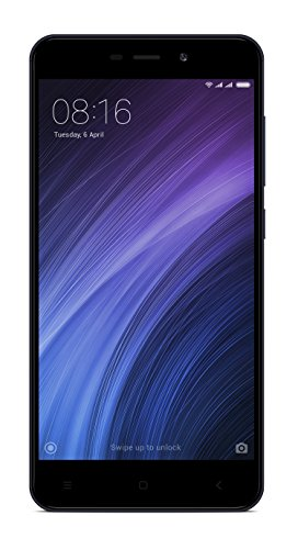 "Xiaomi Redmi 4A - Smartphone Libre de 5"" (4G, WiFi, Bluetooth, Snapdragon 425 1.4 GHz, 16 GB de ROM Ampliable, 2 GB de RAM, cámara Trasera de 13 MP, Android MIUI, Dual-SIM), Gris [versión Global]"