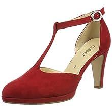 Gabor Shoes Women's Fashion Closed-Toe Pumps, Red (Cherry 45), 5 UK (38 EU)