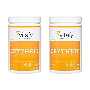2 x Vitafy Essentials Erythrit (2x1000g)