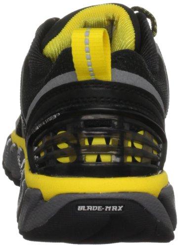 K-Swiss BLADE-MAX TRAIL 92725-099-M Damen Sportschuhe - Running Schwarz (BLK/CHRCL/BRTYLLW)