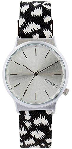 Komono-Orologio Unisex al quarzo con Display analogico e cinturino in...