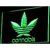 ADV PRO i765-g Cannabis Marijuana Weed High Life NEW Light Sign Barlicht Neonlicht Lichtwerbung