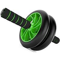 Comparador de precios JIMEI Ab-Roller Rueda Abs Carver para Abdominal & Estomach ejercicio entrenamiento porque usted necesita el mejor equipo de fitness Core Shredder su nuevo Abril Trainer incluye 2 libros electrónicos de instrucciones - precios baratos