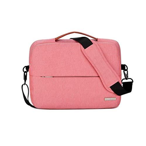 Laptop-Umhängetasche Business Office-Tasche, Laptop-Tasche for Frauen, Schlanke, Leichte Business-Aktentasche, Tragetasche for Tragbaren Computer Mit Griff (Color : B, Size : 13inch) -