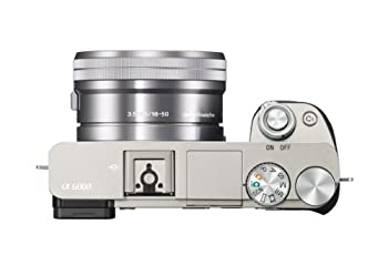 Sony Alpha A6000 Mirrorless Digital Camera With 16-50mm Lens Silver 4