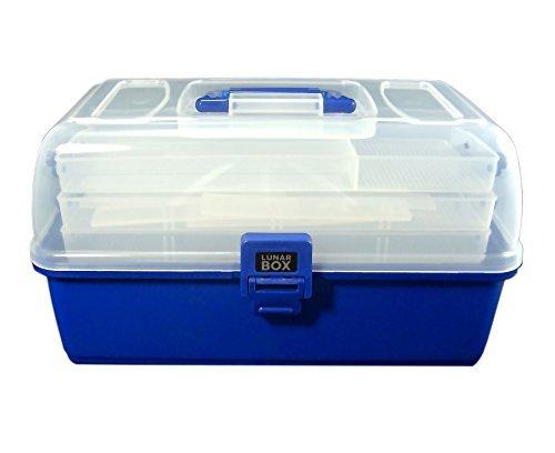 Lunar Box - Caja de pesca (3 niveles, compartimentos intercambiables)