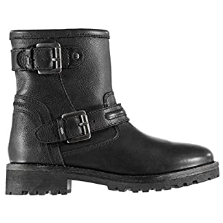 Firetrap Womens Belvin Boots Rugged Zip Padded Ankle Collar 19