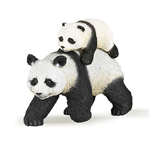 Rikey Panda Figur Spielzeug, 3 Zoll Wildes Leben Spielzeug Neu Für Hauptdekoration Kinder Eduction well-designed