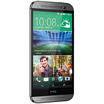 "HTC ONE M8 5"" 16GB 4G LTE ANDROID 4.4 EUROPA GRAY"