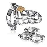 Fibbia chiave in acciaio inossidabile metallo (3 accessori di taglia)