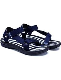 QIDI Sandales Polyester EVA Antidérapant Noir Tendance Personnalité Chaussures De Plage (taille : EU39/UK6)