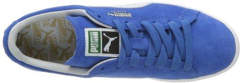 Puma Suede Classic+ , Baskets Mode Mixte Adulte, Rouge Bleu (Victoria Blue/Gray Violet)
