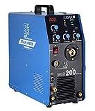 STAHLWERK Schweißgerät DC MIG MAG 200 Inverter WIG ARC MMA STICK Elektrode 5KG
