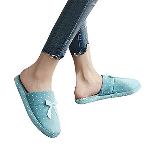 TianWlio Frauen Herbst Winter Stiefel Schuhe Stiefeletten Boots Lässige Schuhe mit Quadratischem Absatz und Wild Gekreuzt High Heel Stiefeletten Blau 40-41