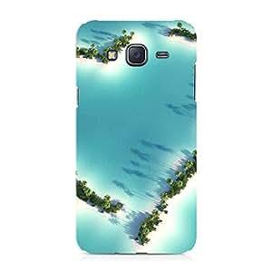 Hamee Designer Printed Hard Back Case Cover for Samsung Galaxy On8 Design 6375
