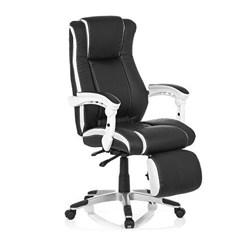 Chaise De Bureau Gaming PC Relax Fauteuil Avec Accoudoirs Appui Tete Pivotant Pour Brisingar Et Zocken Ergonomique Racer