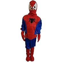 nueva máscara ropa Carnaval de Halloween carácter película del bebé bebé Spiderman vengadores Juego de superhéroe traje de cosplay tg xl