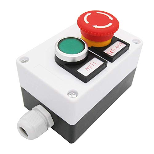 Este conmutador de botón pulsador exquisito procesamiento, garantía de calidad para 3 años. Si surgen problemas de calidad en un plazo de 3 años, puede enviarnos un correo electrónico. Le enviamos de nuevo. (Solo para reemplazar los interruptores) lo...