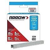Arrow 506 Boîte de 1250 Agrafes 10 mm pour Agrafeuse T50
