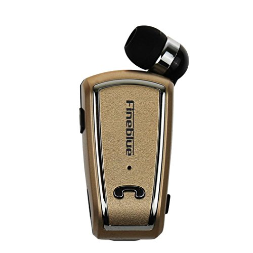 Lacaca A-Cuffie Wireless Bluetooth 4,0 retrattile per iPhone,