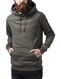 Urban Classics Bomber Hoody, Sweat-Shirt àCapuche Homme