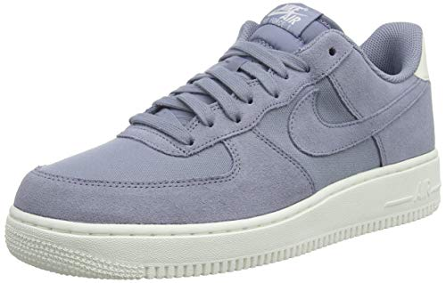 promo code 44415 9a64d NIKE Air Force 1  07 Suede, Chaussures de Fitness Homme, Multicolore Ashen  Slate
