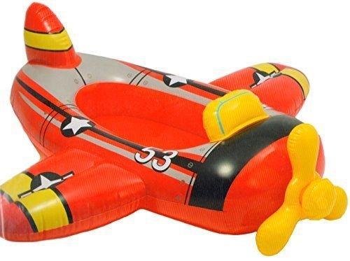 Intex Rosso Aereo bambini gonfiabile ritt AM Pool Cruiser spiaggia galleggiante giocattolo