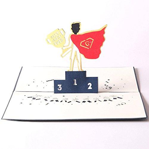 Paper Spiritz Geburtstagskarte 3D Pop up, Geschenkkarte zum Geburtstag, 3d geburtstagskarte pop up, pop up karte, Weihnachtskarte,Romantik-Karte,dankeskarte 3d,