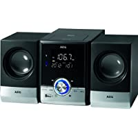 AEG MC 4461BT Top Loading CD Player with Bluetooth and MP3 - Black - ukpricecomparsion.eu