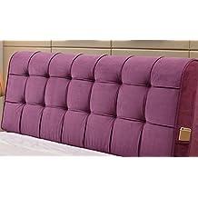 ZXLDP Cojín de apoyo lumbar Bedside Soft Bag Grandes almohadones de respaldo Custom cama doble almohadas almohada de tela puede ser lavado y lavado Cojines Accesorios ( Color : A7 , Tamaño : 120*58cm )
